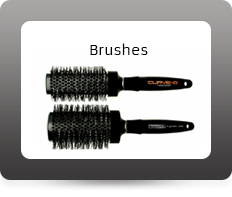 Curve-O Brushes with electrified hair system